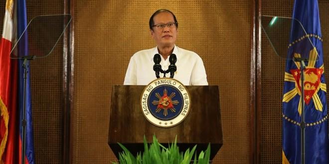 In this September 2015 photo, President Benigno S. Aquino III delivers a speech at Malacañang. NOYNOY AQUINO (P-NOY) PAGE