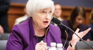US Federal Reserve Chairman Janet Yellen testifies on Capitol Hill in Washington before the House Financial Services Committee hearing on banking supervision and regulation. Yellen said the Fed has not made a decision yet on whether to raise a key interest rate in December. AP
