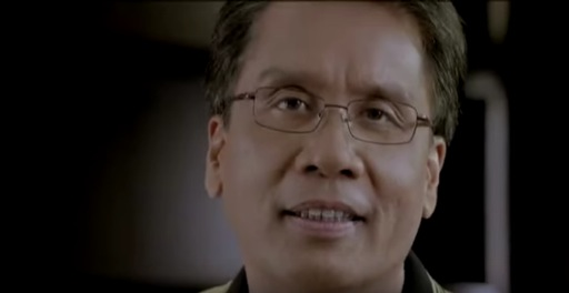 "Screengrab from Mar Roxas's ""Walang Drama"" campaign advertisement."