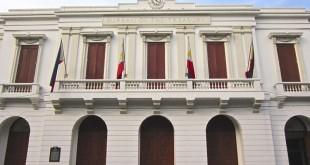 Facade of the Bureau of the Treasury building in Intramuros, Manila. (Photo: Alvin I. Dacanay)