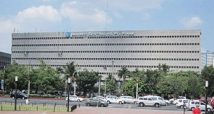 One of the buildings in the Bangko Sentral ng Pilipinas complex on Roxas Boulevard in Pasay City. (Photo: Alvin I. Dacanay)