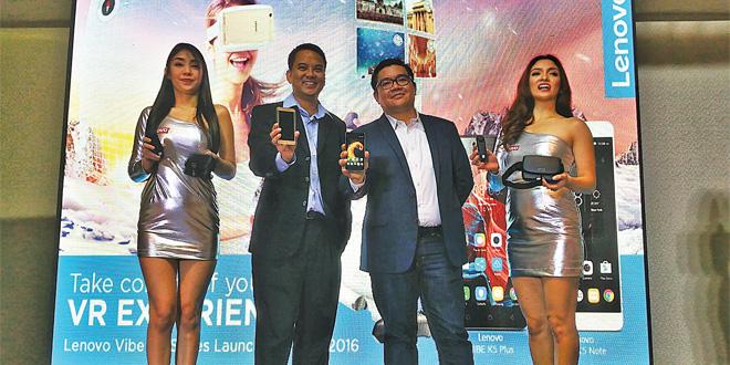 Lenovo offers more virtual-reality fun with Vibe K5 Series
