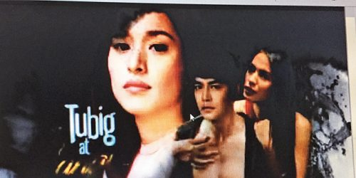 screenshot of the The Filipino Channel show Tubig at Langis