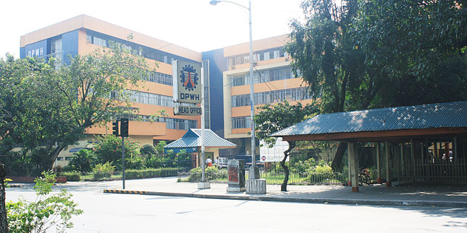 Department of Public Works and Highways head office. TMM FILE PHOTO