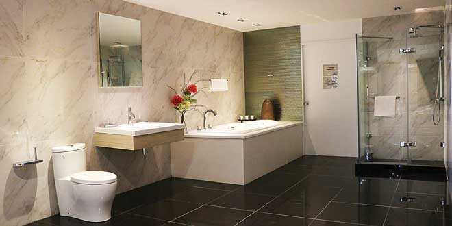 One Of The Bathroom Sets Featured In Kohler Showroom Photo Alvin I Dacanay