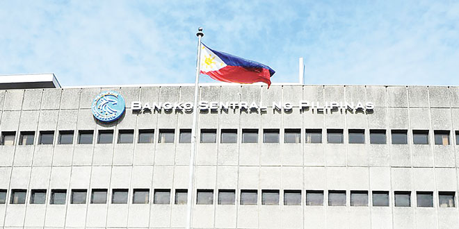 A detail of the Bangko Sentral ng Pilipinas building. BSP FACEBOOK PAGE
