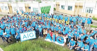 AIG is committed to making a positive difference in the communities where its employees work, live, and serve their customers. To create consistency and make a more collective impact on these communities, AIG has aligned its charitable endeavors around three philanthropic themes: safety, security, and disaster relief.
