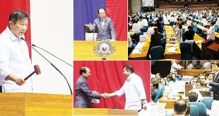 The House of Representatives adjourned on May 31 its first regular session of the 17th Congress. Speaker Pantaleon D. Alvarez (leftmost photo) thanked and lauded his colleagues for their hard work in passing the much-needed legislation that will benefit the Filipino people. Among the significant measures passed by the House in just a span of 10 months are the Tax Reform for Acceleration and Inclusion (TRAIN) bill.  HOUSE OF REPRESENTATIVES WEBSITE