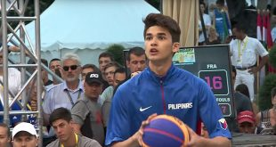 Kobe Paras. SCREENGRAB FROM FIBA3X3 YOUTUBE ACCOUNT
