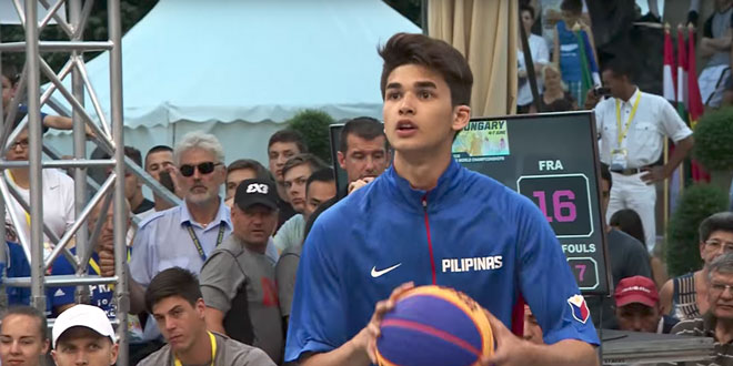 Kobe Paras. SCREENGRAB FROM FIBA3X3 YOUTUBE ACCOUNT
