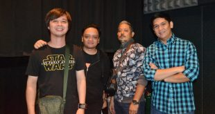 Rivermaya at the recent press conference for the 11th International Silent Film Festival Manila at the Shangri-La Plaza's Shang Cineplex in Mandaluyong City. (Photo: Hananeel Bordey)