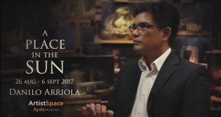 "A screengrab from ""A Place in the Sun"" promotional video featuring Danilo Arriola. (Photo: Jeremy Jay Abanao's Vimeo account)"