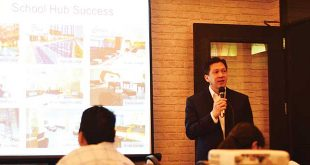 SMDC Executive Vice President Jose Mari Banzon introduces Green 2 residences in a press briefing. (PHOTO BY HANANEEL BORDEY)