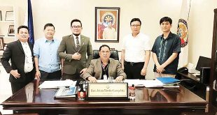 DOTR ACCREDITS NAMSSA FOR DOMESTIC MARITIME SECURITY National Maritime Safety and Security Agency ( NAMSSA ) officials pose with Usec. Arturo Evangelista (seated), Administrator of the Department of Transportation Office for Transportation Security (DOTr-OTS) following their accreditation for Domestic Maritime Security. From left to right (Standing) are Atty. Erwin Motin of NAMSSA Legal Department; Gen. Napoleon Cuaton - OTS HEAD; Capt Jesser Cordova NAMSSA Director General; David Choi, NAMSSA head of Gen.Affairs; and Sung Hee Lee- Korean Register of Shipping Country Manager.