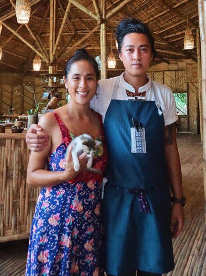 Kimberly Eng and Ken Cazeñas