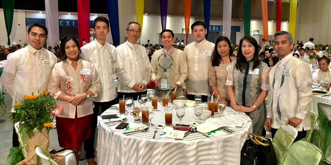 Fujitsu Global Delivery Center (GDC) in the Philippines recognized for its Outstanding Environmental Contribution by PEZA